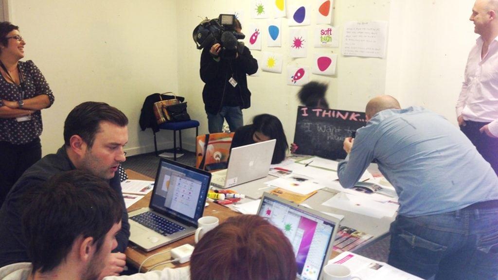 Soft Touch Arts workshop