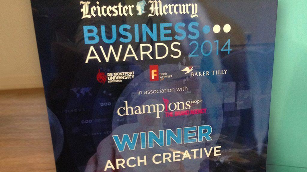 Leicester Mercury Business Award Winner