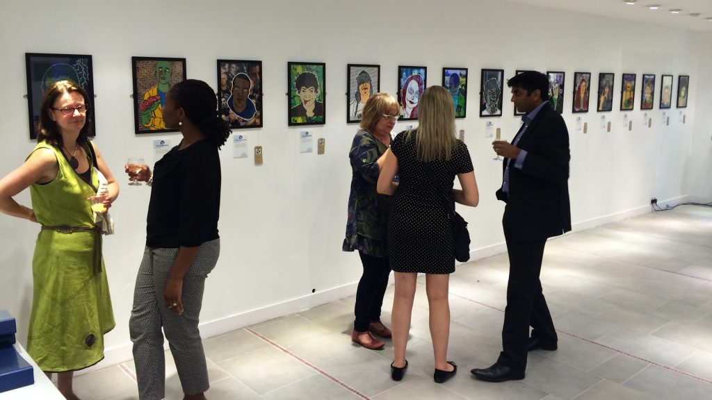 Soft Touch Arts exhibition
