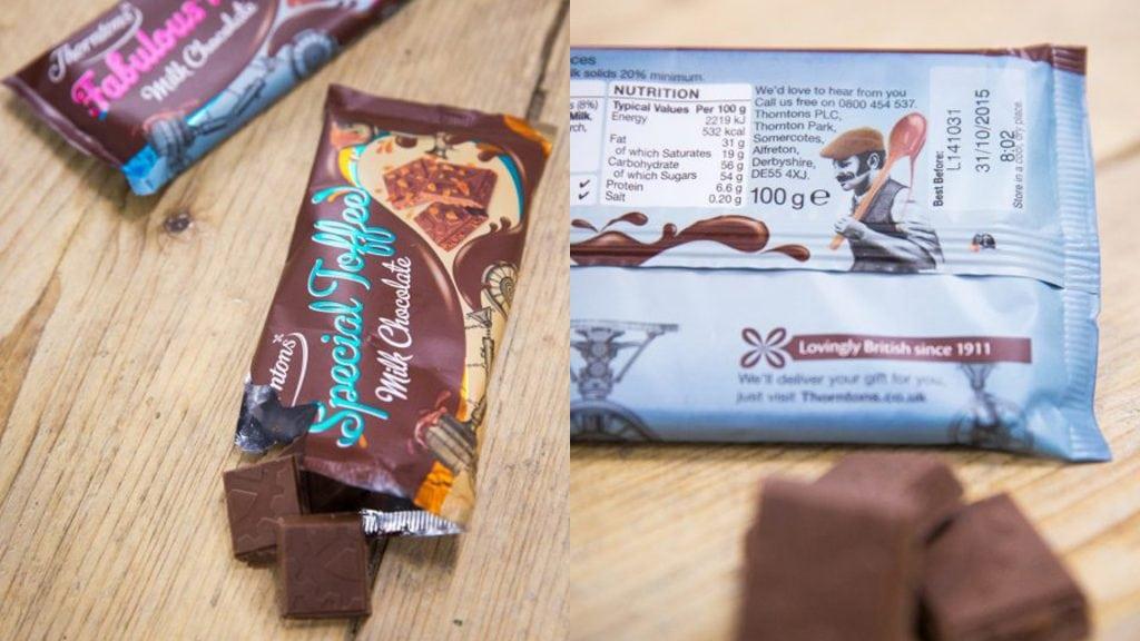 Thornton's Chocolate Bar