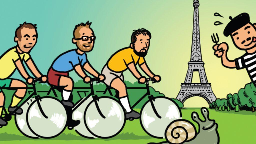 Pedalling to Paris