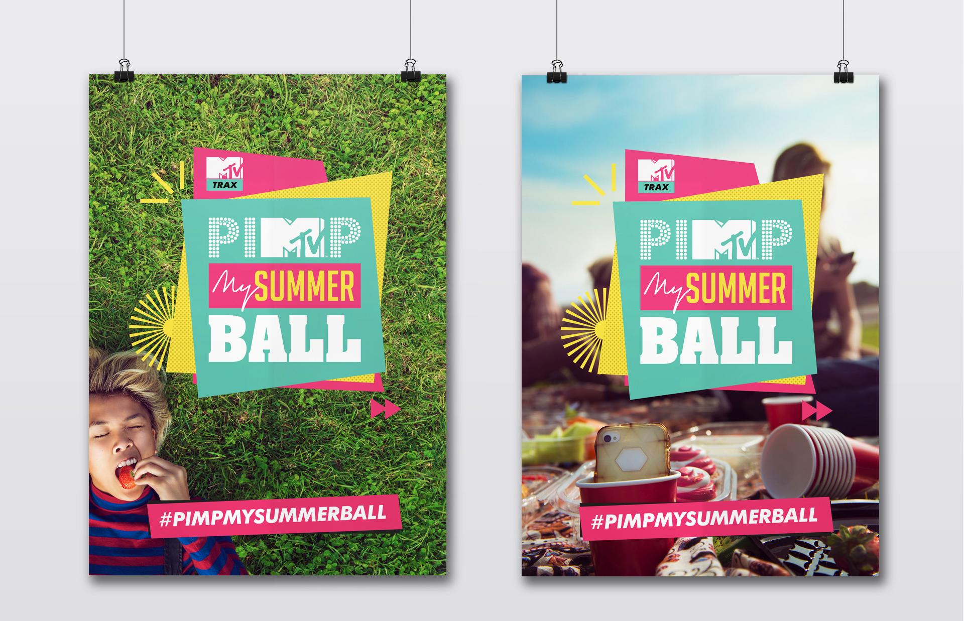 Pimp My Summer Ball - posters