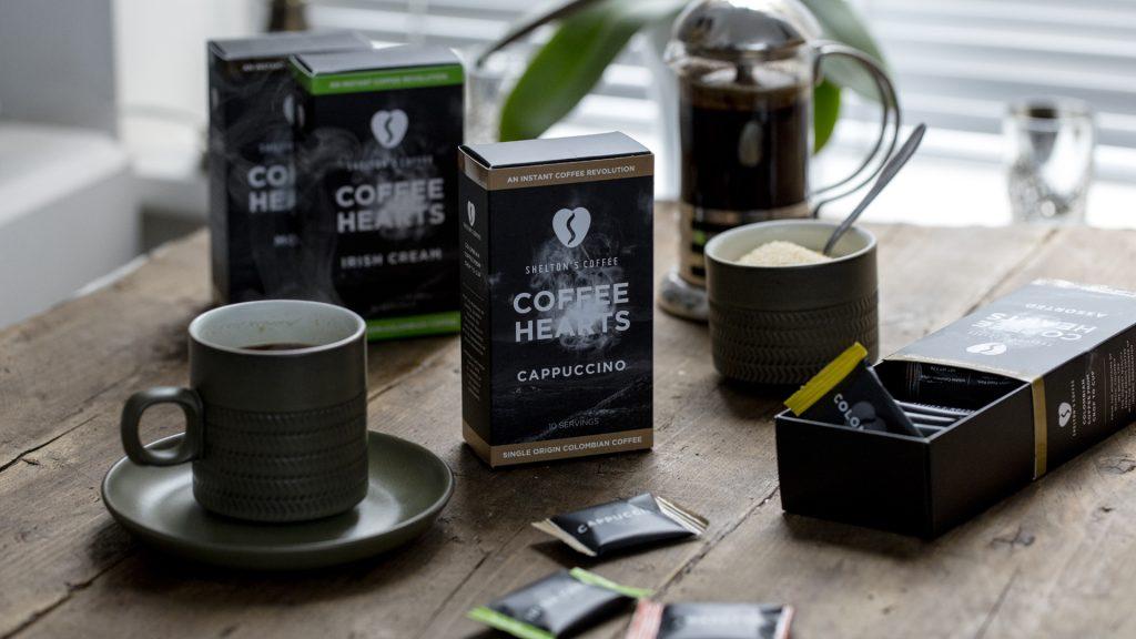 Shelton's Coffee Packaging