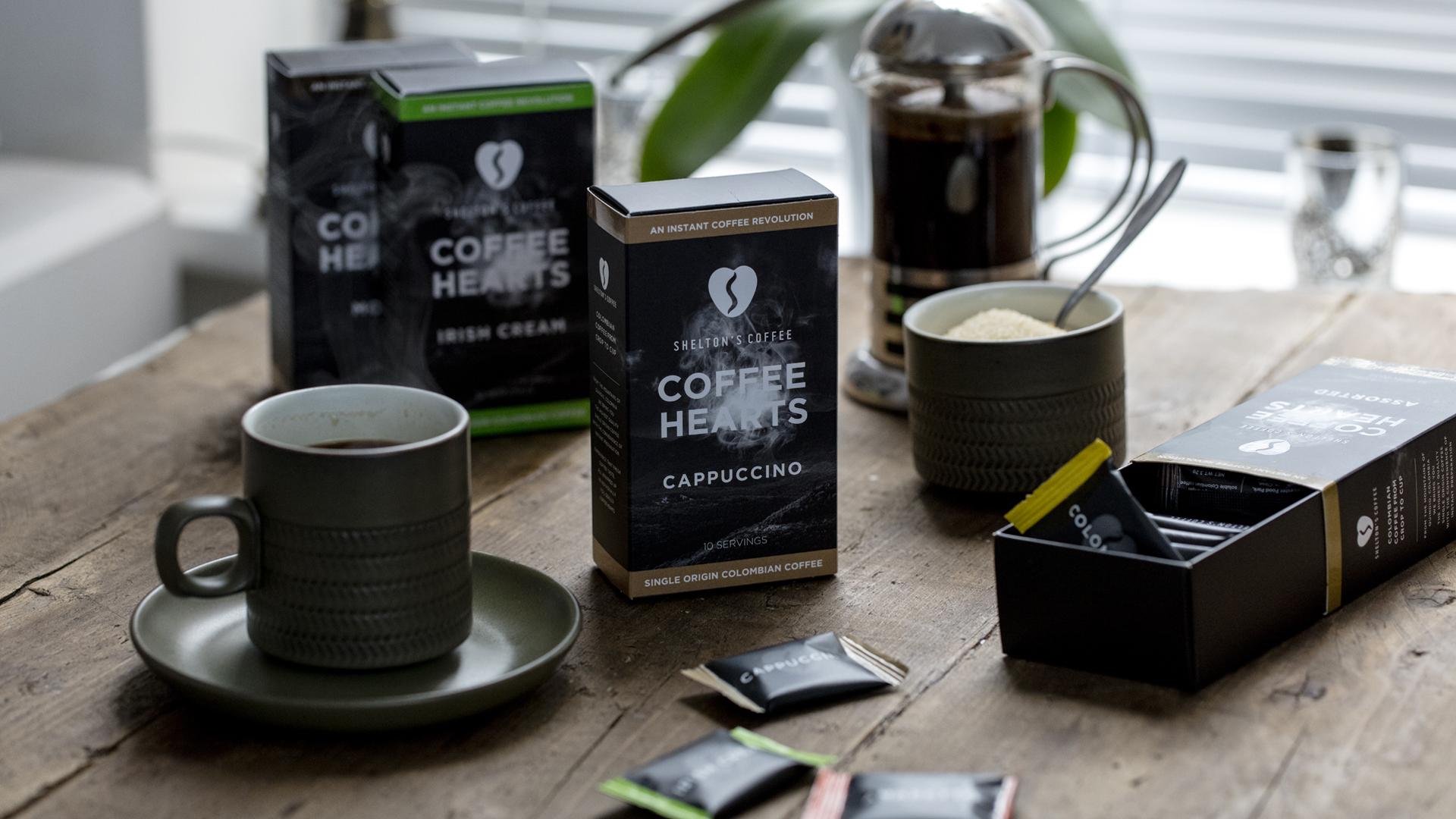 cardboard coffee boxes