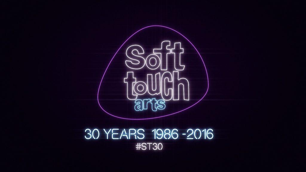 SOFT TOUCH ARTS 30TH ANNIVERSARY Logo