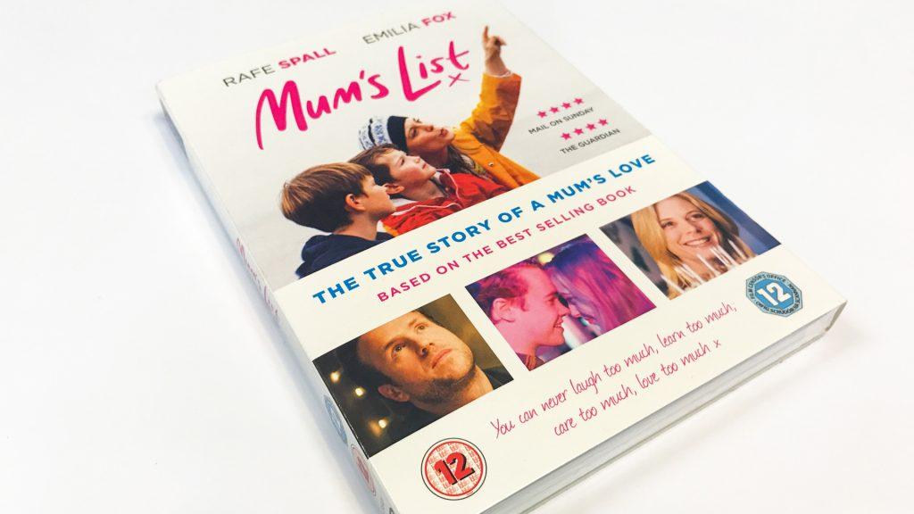 Mum's List DVD cover