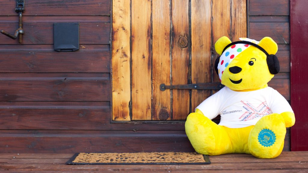 Design Agency Arch Creative support BBC Children in Need and Radio Leicester