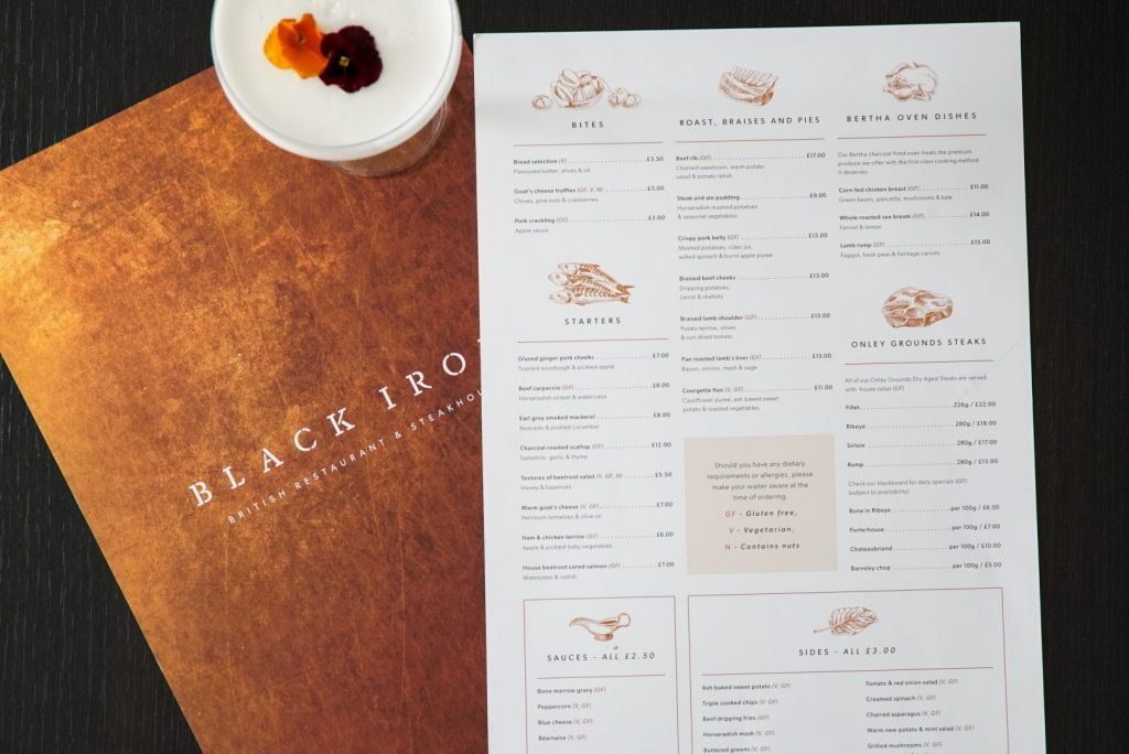 _Black_Iron_Menu_Arch_Creative_Design_Leicester