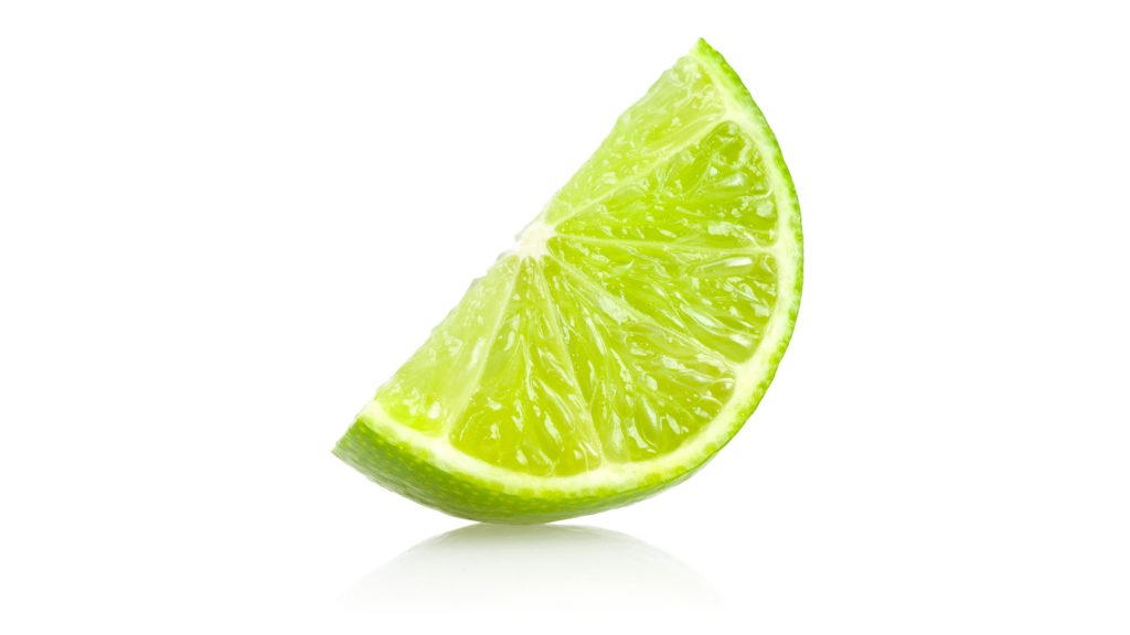 a tasty slice of lime