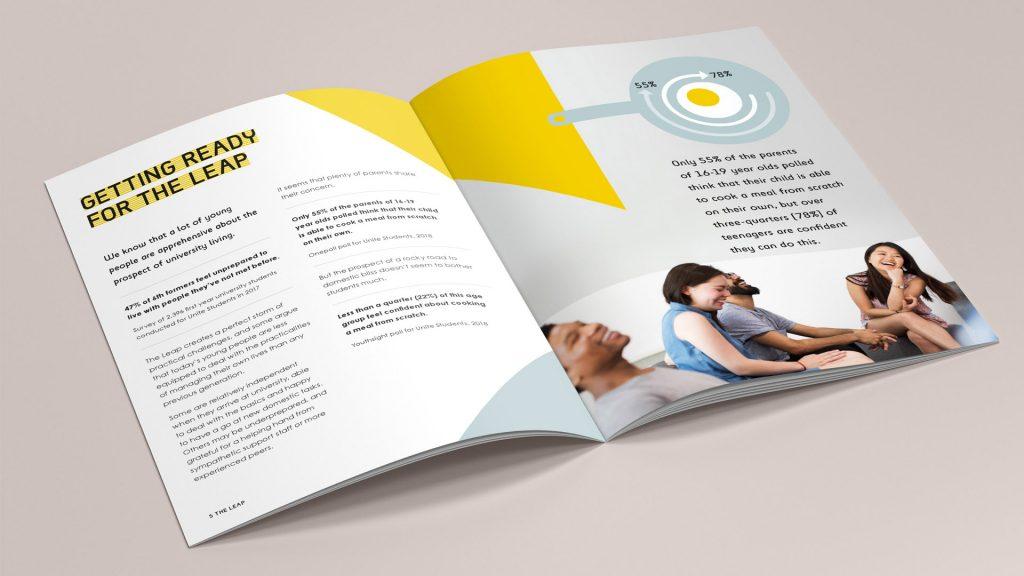 Unite White Paper design spread