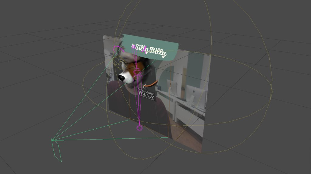 AR Filter creation screenshot