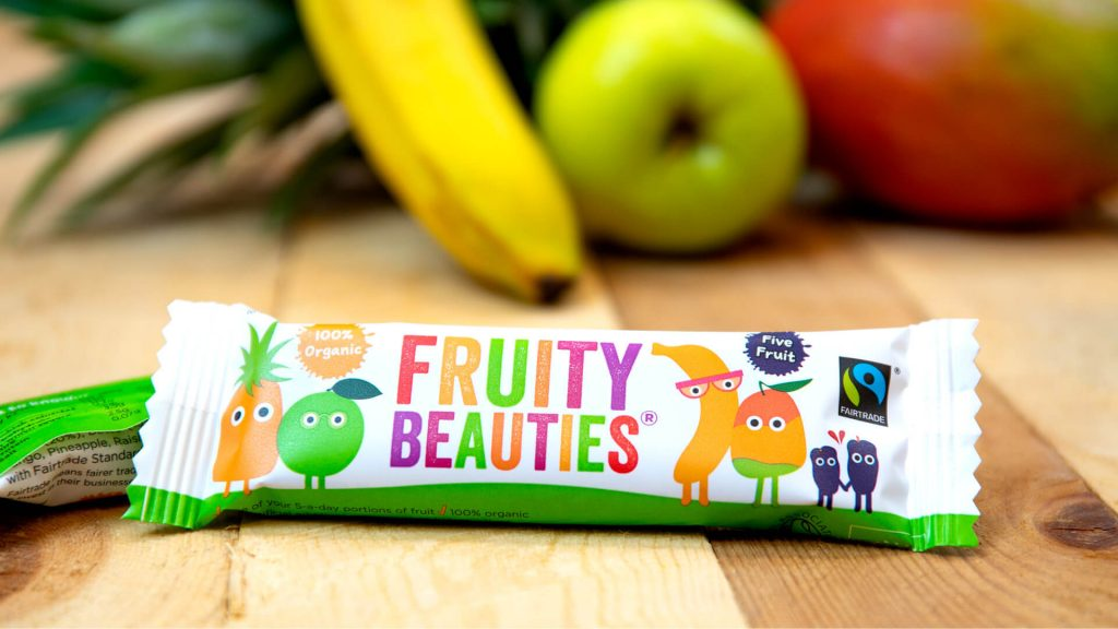 Fruity Beauties Bar on table